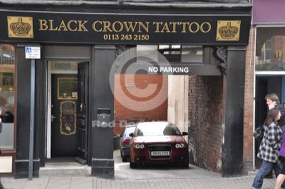 Black crown tattoo leeds tattoo studio shopping in city for Tattoo shops studio city