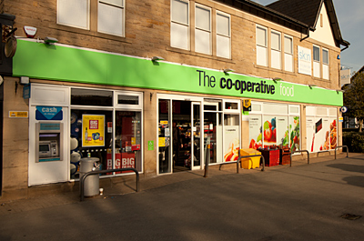 Co-operative Store (Supermarket) Shopping in Roundhay, Leeds LS8 2ET March 11, 2018, 8:45 pm
