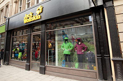 lowest price eb93c 5eaa1 Jack Wolfskin (Clothes Shop) Shopping in City Centre, Leeds ...