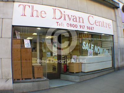 the divan centre furniture shop shopping in city centre