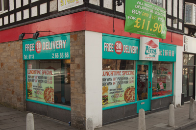 Pizza House Pizza Takeaway Shopping In Moortown Leeds